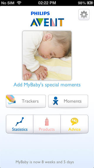 My Baby & Me App by Philips AVENT