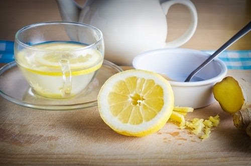 Ginger Lemon Water