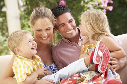 A Happy Family: Why It's So Important to Your Kids