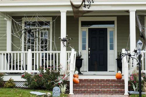 15 Cheap Outdoor Halloween Decorating Ideas Part 10