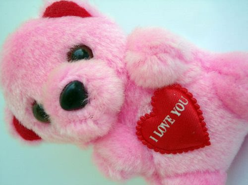 A toy that says I love you