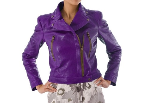 Luxury purple jacket
