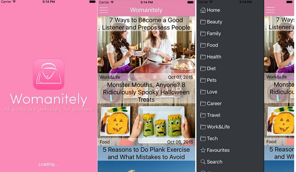 The Womanitely App Is Now Available on iTunes and Google Play