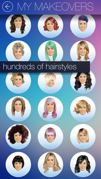 Hair MakeOver App