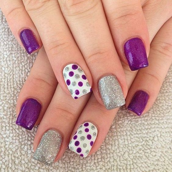 15 chic nail designs part 14 crazy nail design prinsesfo Gallery