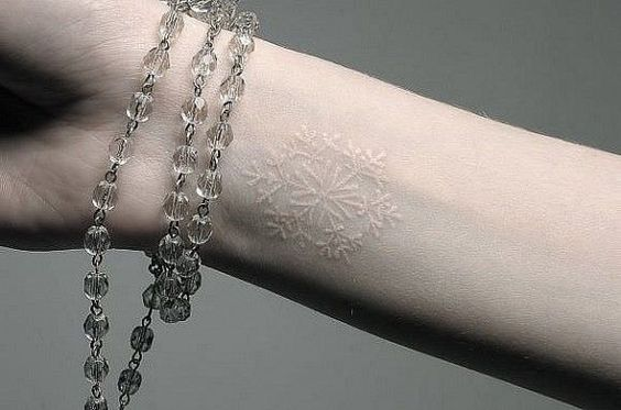 10 Fabulously Unique White Tattoo Ideas