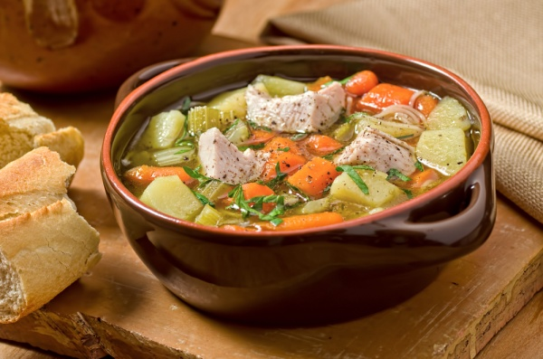 Low-Calorie Turkey Vegetable Soup