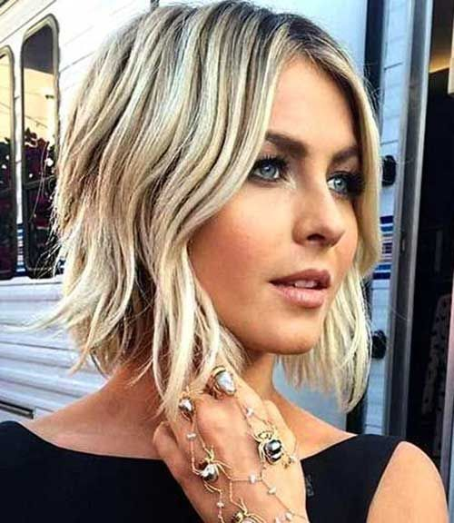 Short Hairstyle Straight Bob