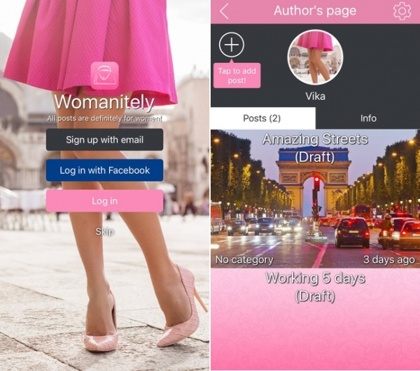 Finally! Womanitely App Users Can Post Their Own Articles