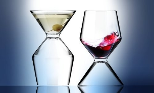 Wine and Martini Glass