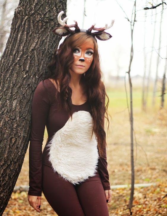 Halloween costume deer