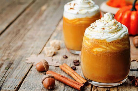 pumpkin pie spiced turmeric latte