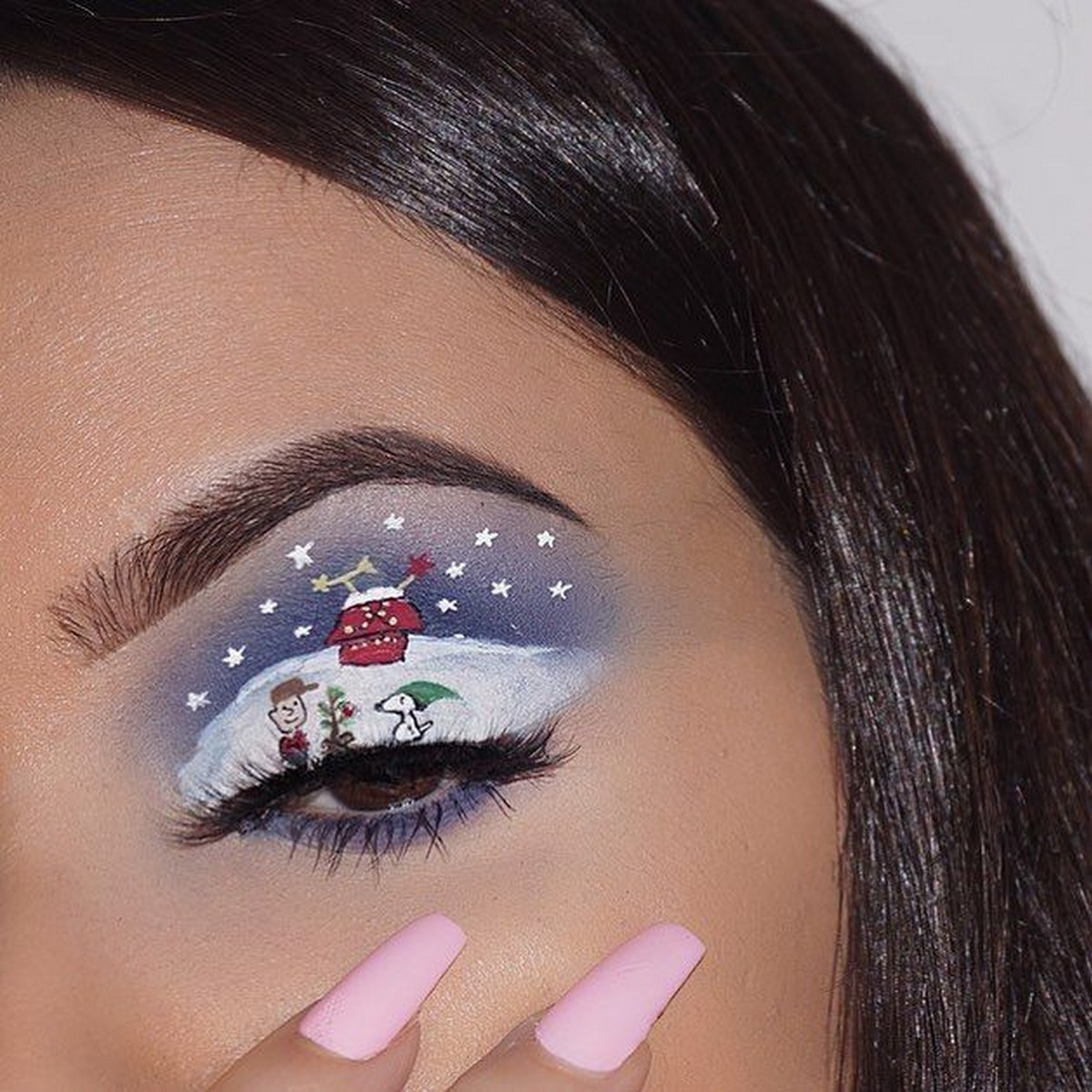 Charlie Brown Christmas 9 Magnificent Christmas Makeup Ideas