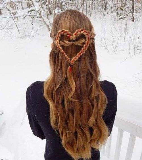 Heavenly Heart hairstyle