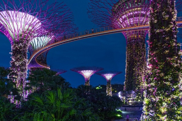 Spots for Night Illumination in Singapore