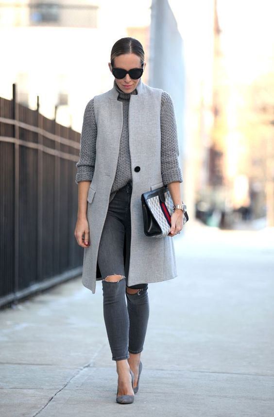 Sleeveless coats