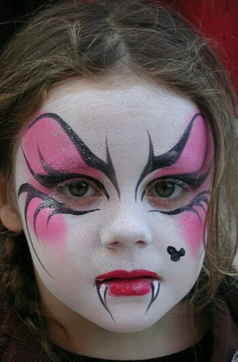 Halloween Makeup Ideas For Kids.10 Halloween Makeup Ideas For Kids