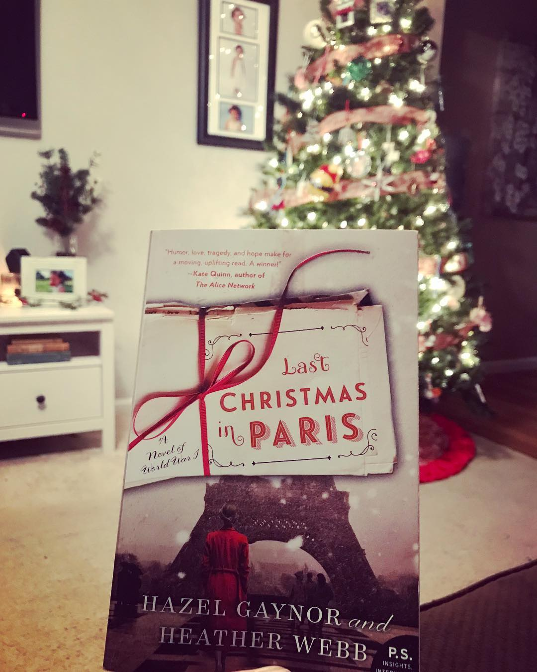 7 Christmas Books to Read When You Celebrate the Holiday Alone Last Christmas in Paris by Hazel Gaynor and Heather Webb