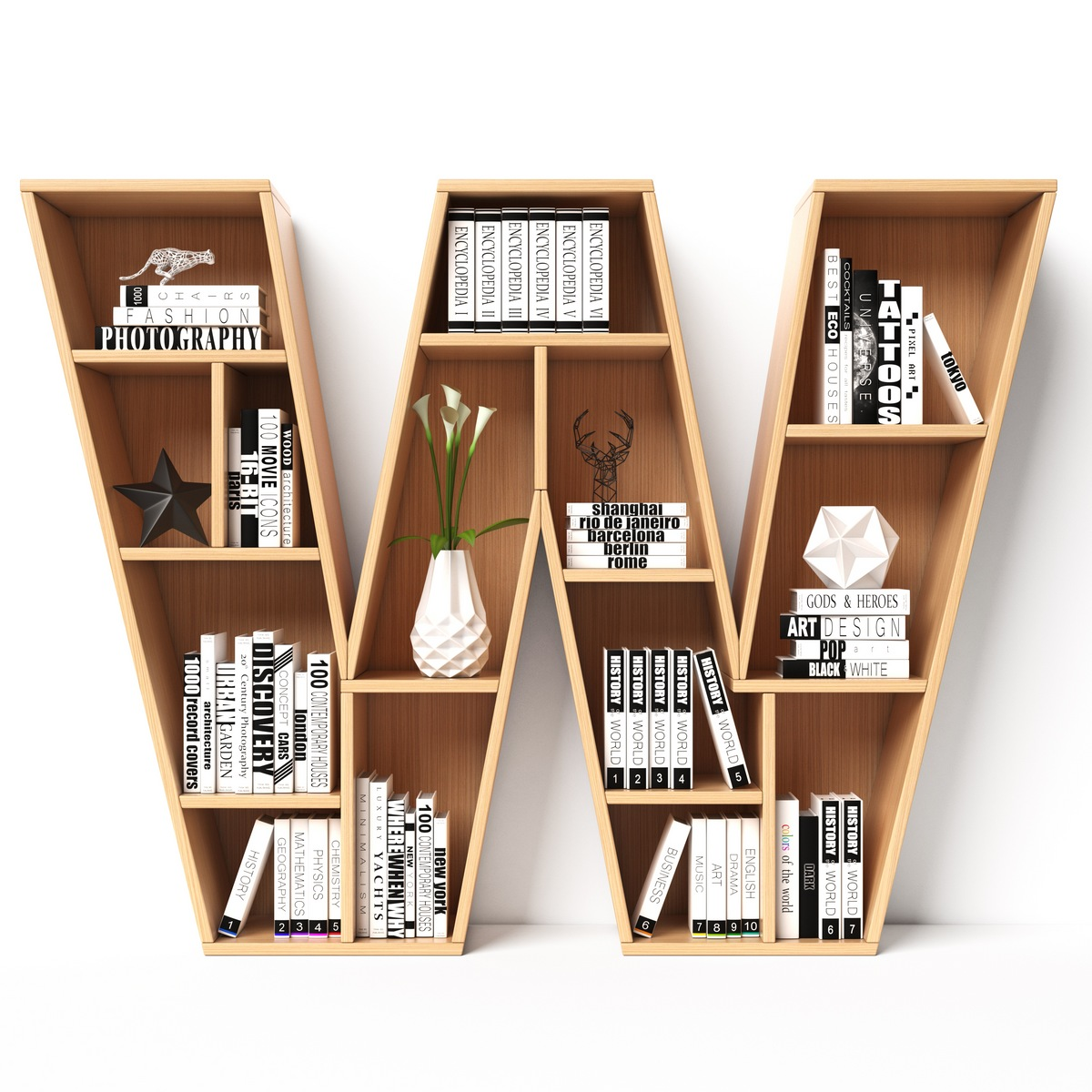 Interesting bookshelf 10 Interior Decoration DIY Ideas Your Wallet will Love